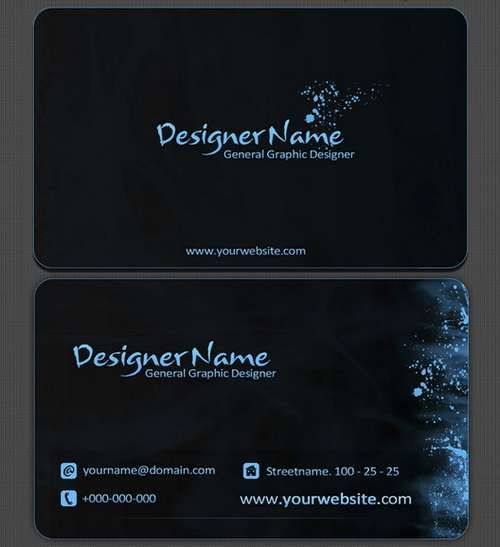 Cool business card designs graphic designer free premium business card template psd templates layered free photoshop best free home design idea inspiration accmission Choice Image