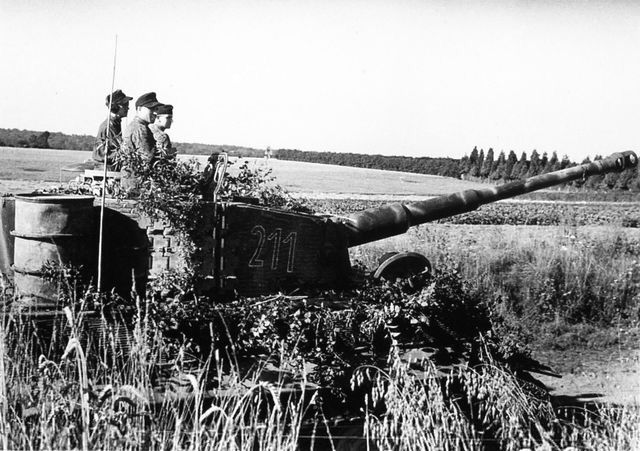 Tiger 1.....Camouflaged