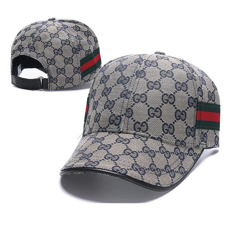 GUCCI Hot Sale Women Men Embroidery Sports Sun Hat