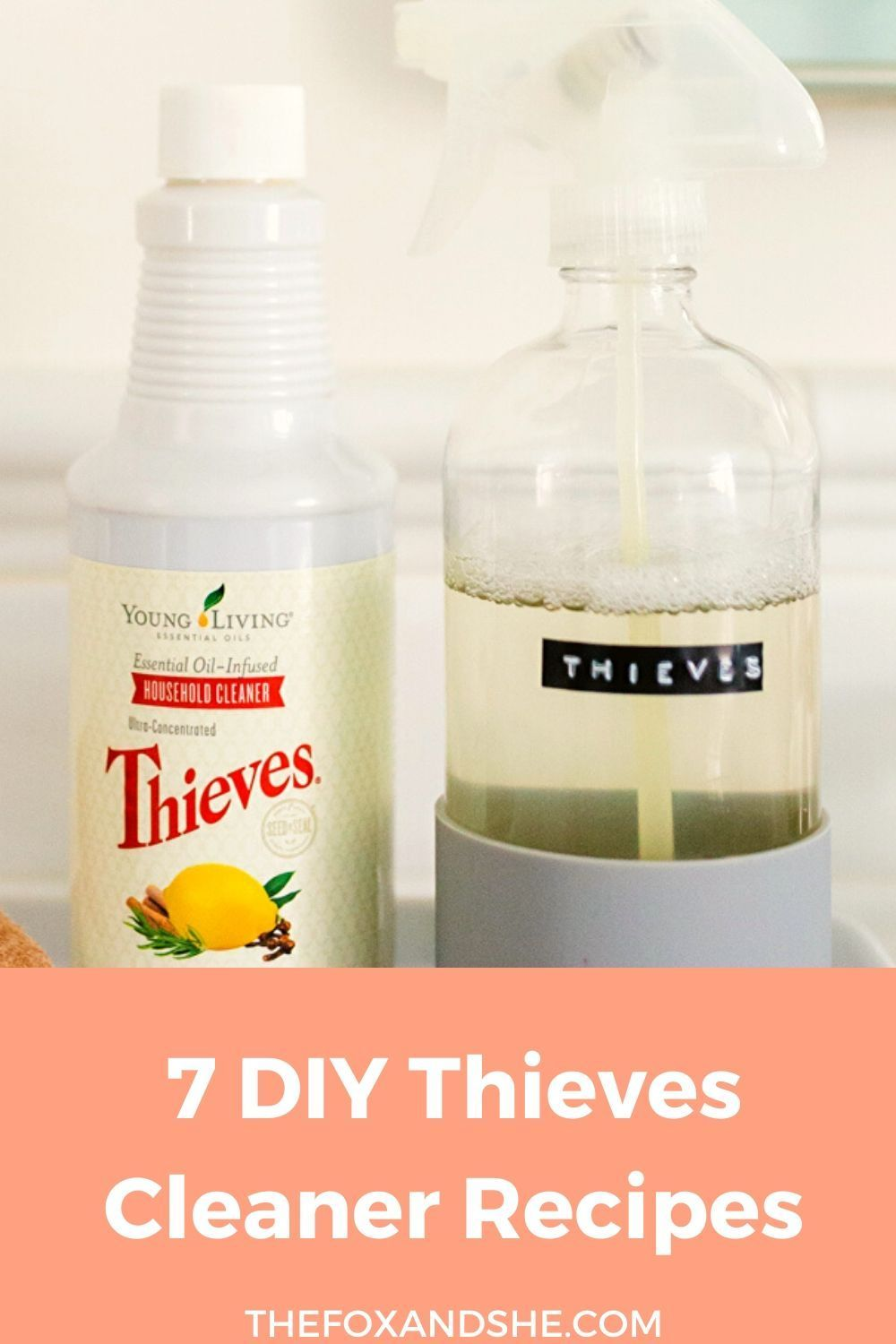 7 diy thieves cleaner recipes in 2020 thieves cleaner