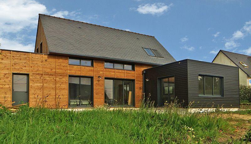 Une maison bois à Guérande arquitectura 2 Pinterest - faire sa maison en 3d