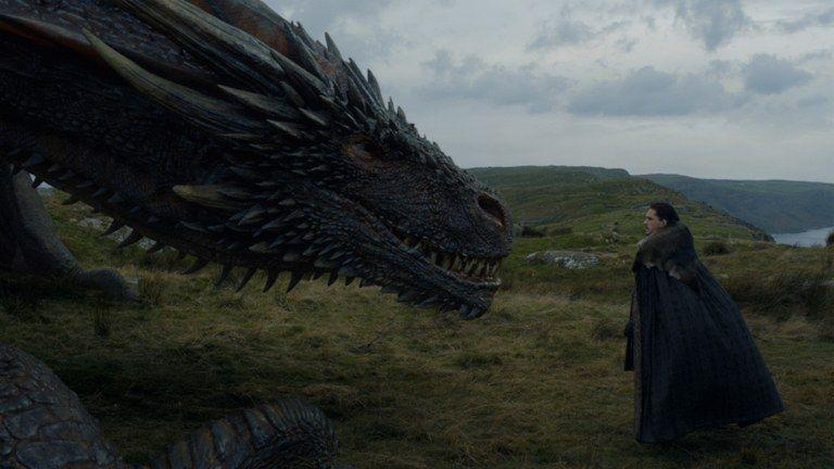 Znalezione obrazy dla zapytania thrones 7 6 dragon