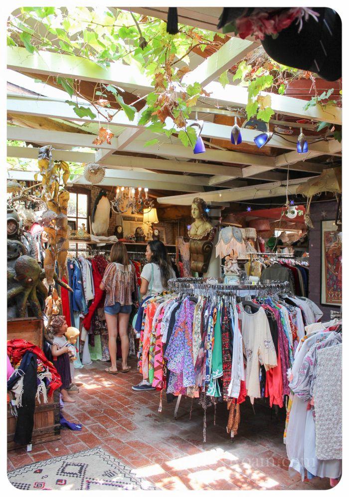 Vintage Interview Hidden Treasures Topanga Ca Topanga Boutique Shop Interior Retail Store Interior