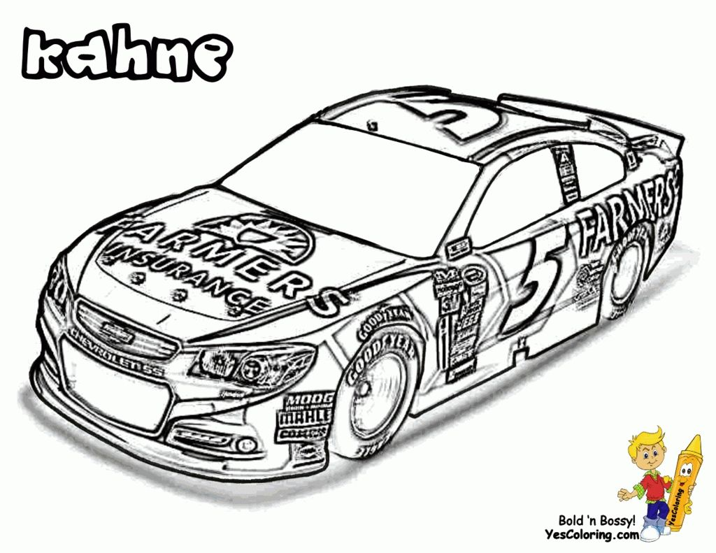 Beautifull Race Car Driver Coloring Pages Printable And Online