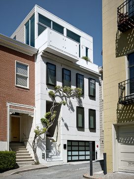 Telegraph Hill Townhouse contemporary exterior