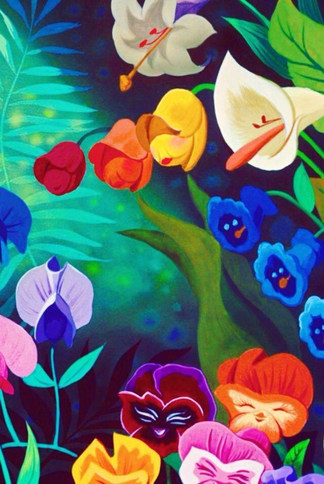 Alice in wonderland disney wallpaper disney wallpapers pinterest alice in wonderland - Free wallpaper alice in wonderland ...