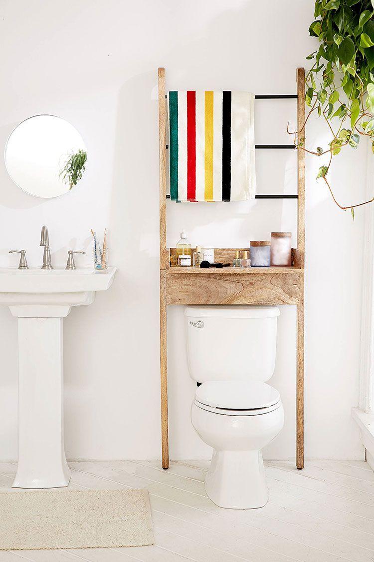 Toilette Gain De Place small bathroom storage essentials | petit meuble pour salle