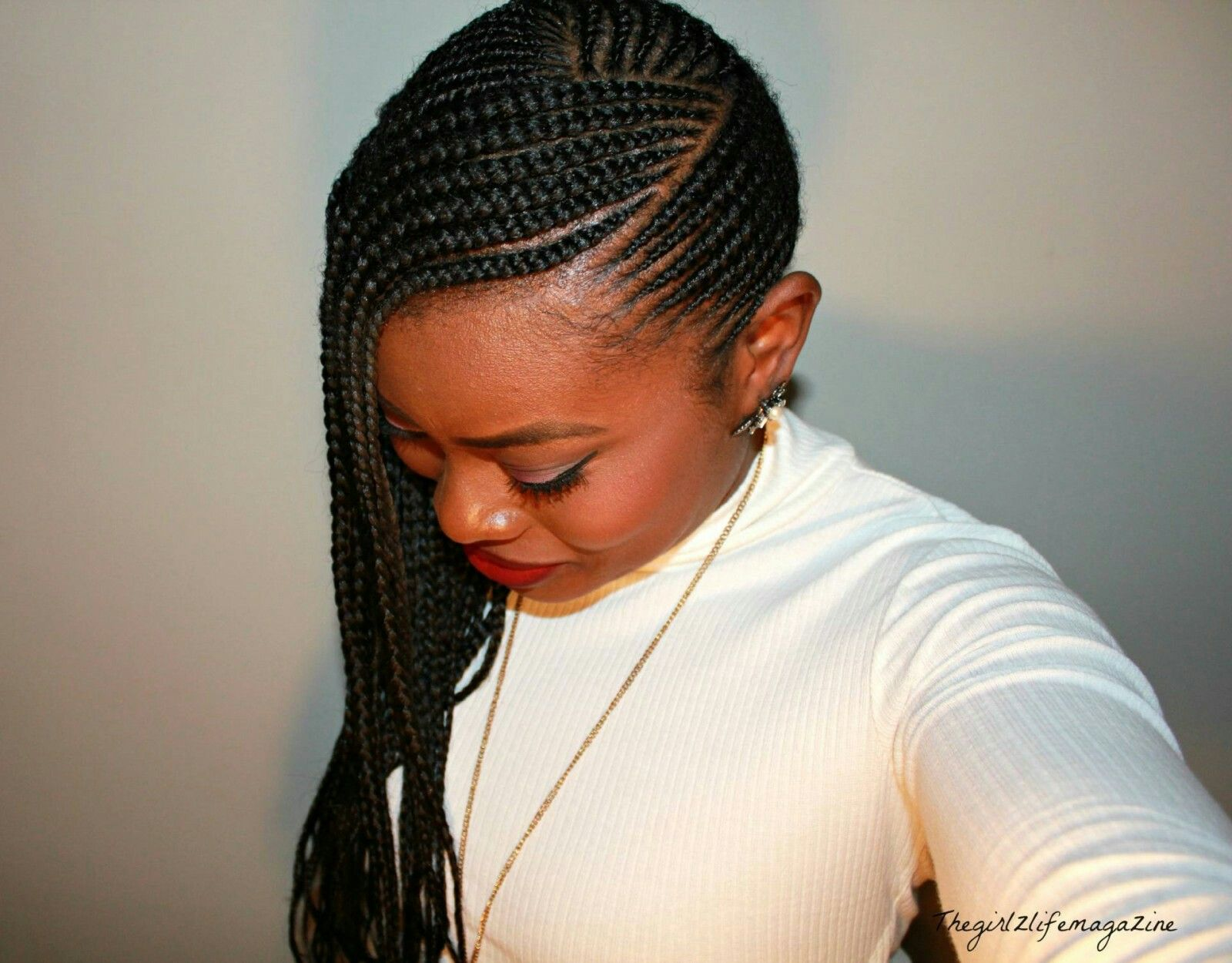 Stunningly cute ghana braids styles for cornrows hair style