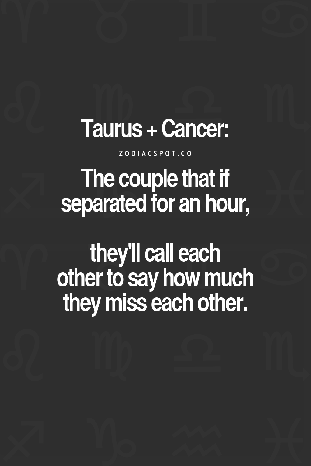 The 25 Best Cancer Man Taurus Woman Ideas On Pinterest  Taurus Man -8458