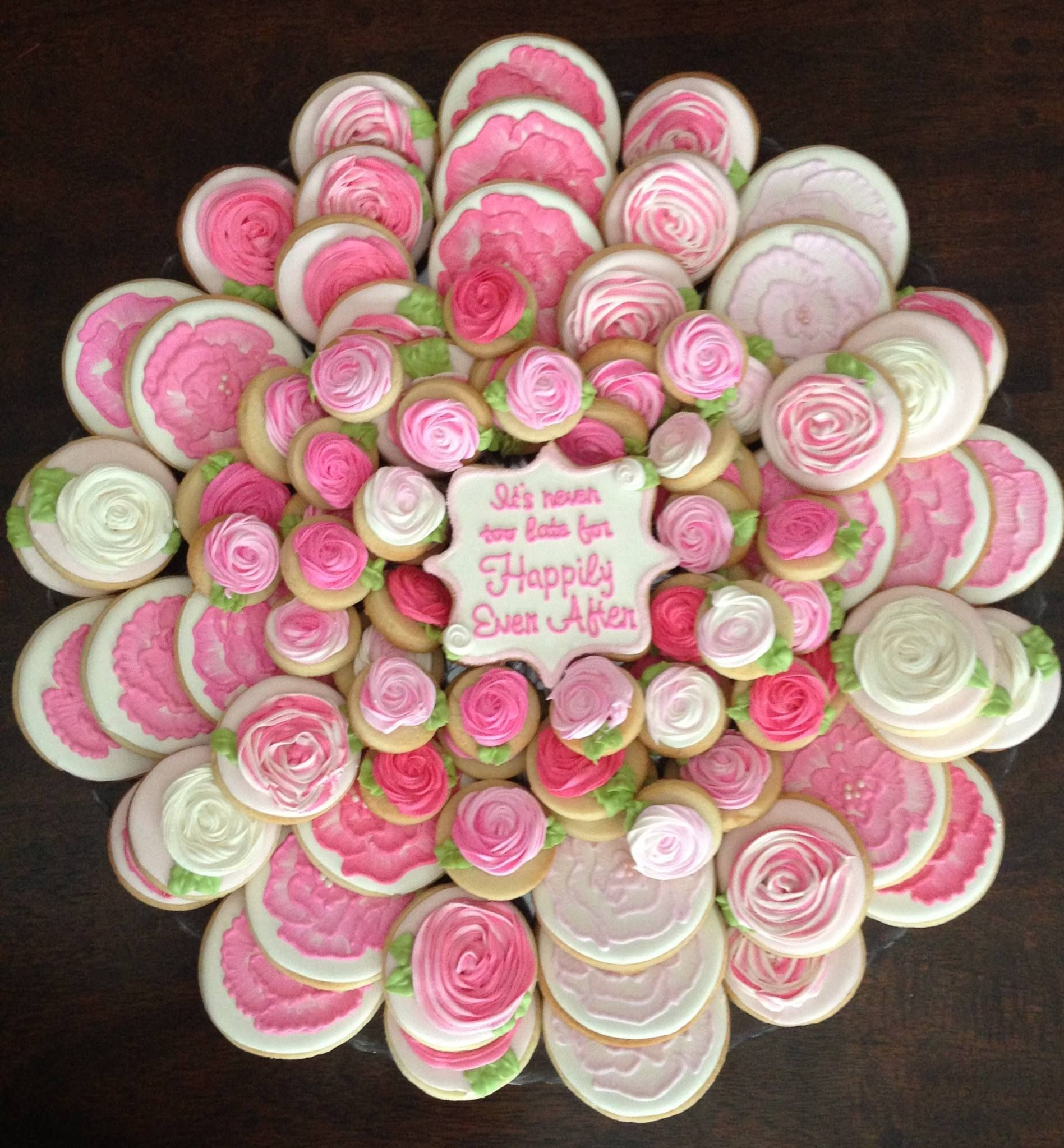 Rehearsal Dinner Decorated Cookies by Nanny and Weebs at http://www ...