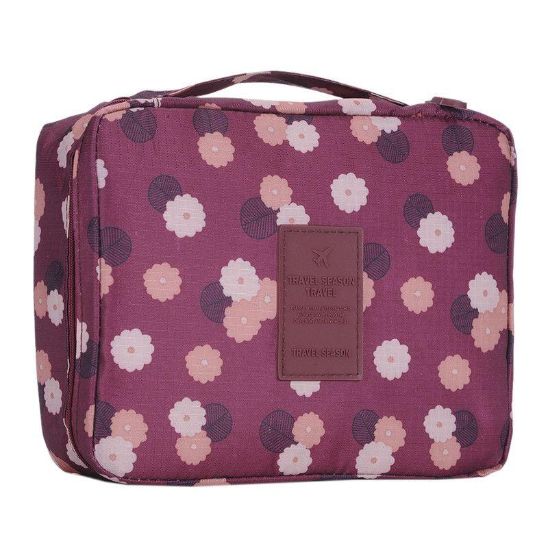 Bag · Portable Toiletry Cosmetic Bag Waterproof Makeup Make Up Wash Organizer  Storage Pouch Travel ... 8100bb13c6e5b