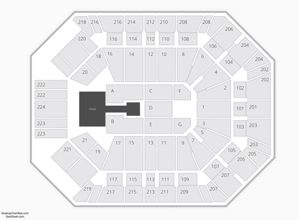 Mgm Grand Arena Seating Chart
