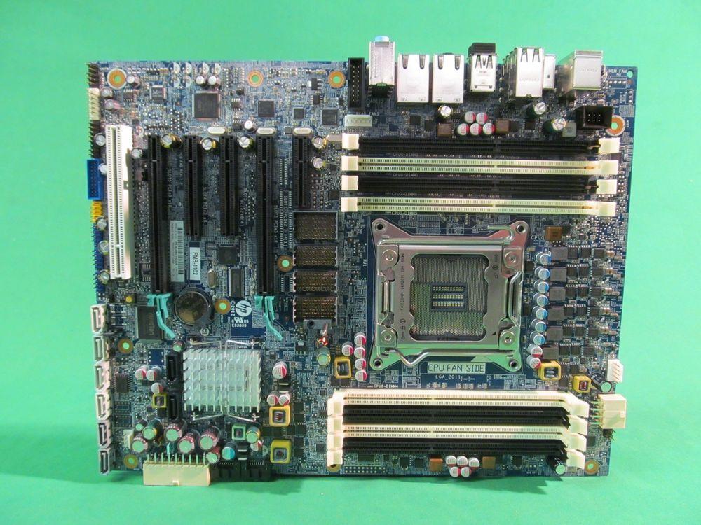 genuine oem hp z620 motherboard fclga2011 708614 001 618264 003 rh pinterest com