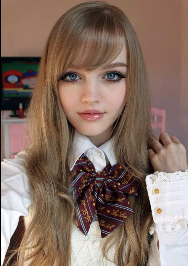 Dakota Rose Baby Doll Makeup Anime Hairstyles In Real Life Dakota Rose Real Barbie