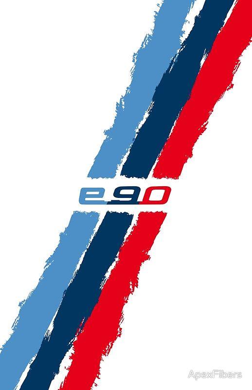 Bmw E90 M Stripes By Apexfibers Mobil Desain Logo Desain