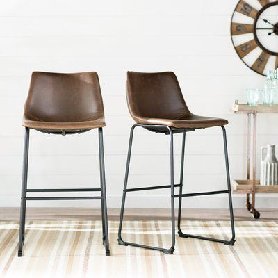 Laurel Foundry Modern Farmhouse Ashley 30 Bar Stool Upholstery