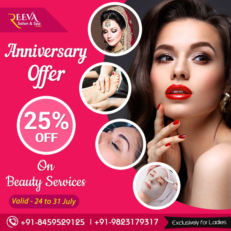 25 Off On Beauty Services Beauty Salon Posters Beauty Services Bridal Eye Makeup