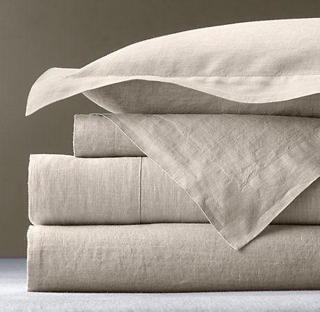 My Favorite Sheets Vintage Washed Belgian Linen Sheeting So Wonderful Linen Sheets Belgian Linen Bedding Restoration Hardware Bedding
