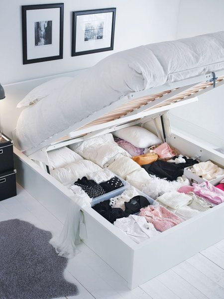 Camas con canapé | Camas, Dormitorio y Muebles multifuncionales