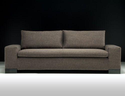 Sof moderno de interior de tela big irony by maurizio for Sillones modulares modernos
