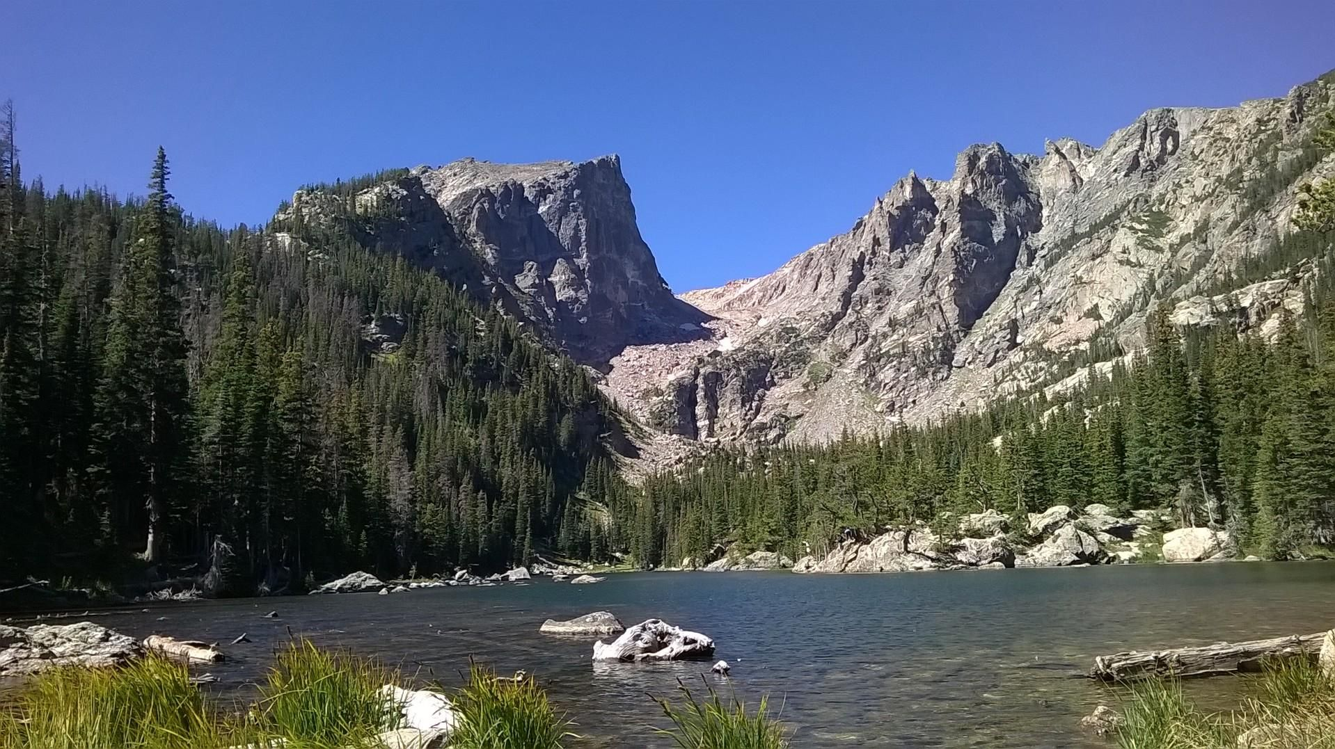 outdoor nature mountains. Dream Lake Rocky Mountain Natl. Park Colorado #hiking #camping #outdoors # Nature Outdoor Mountains R