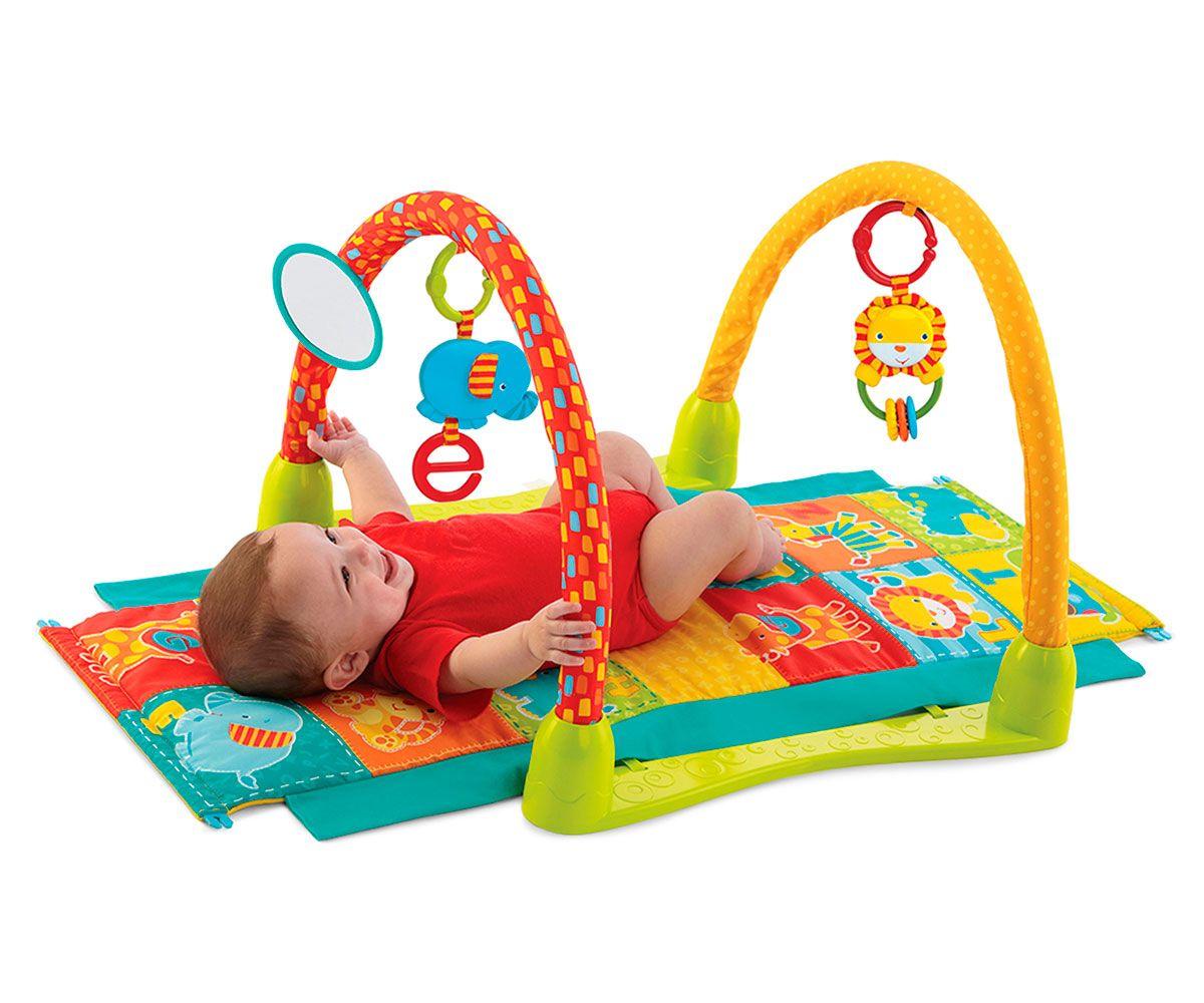 Gimnasio para bebé el túnel de la jungla Bright Starts | kyara ...
