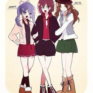 Gender bender triplets | Diabolik Lovers | Diabolik lovers