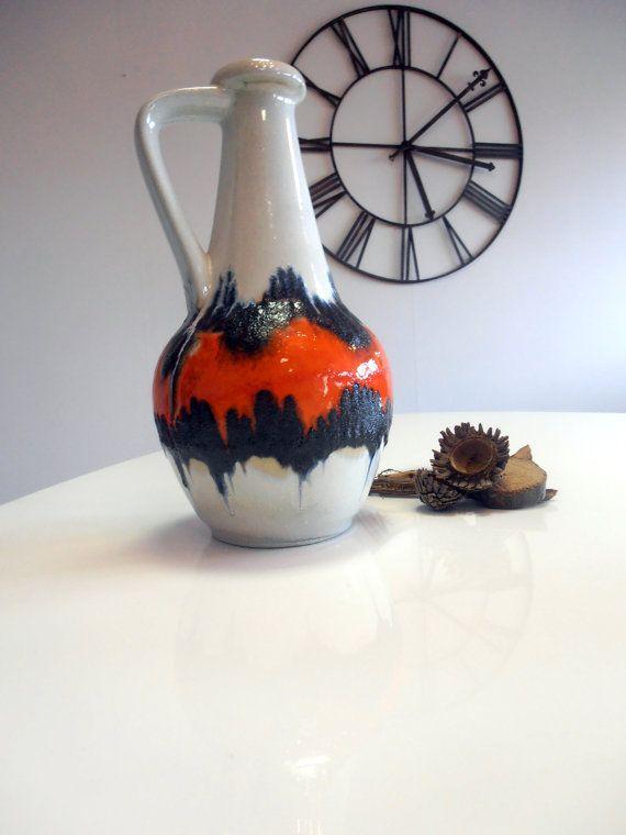 Funky Bay ceramic vase  SALE by Veryodd on Etsy, $35.00