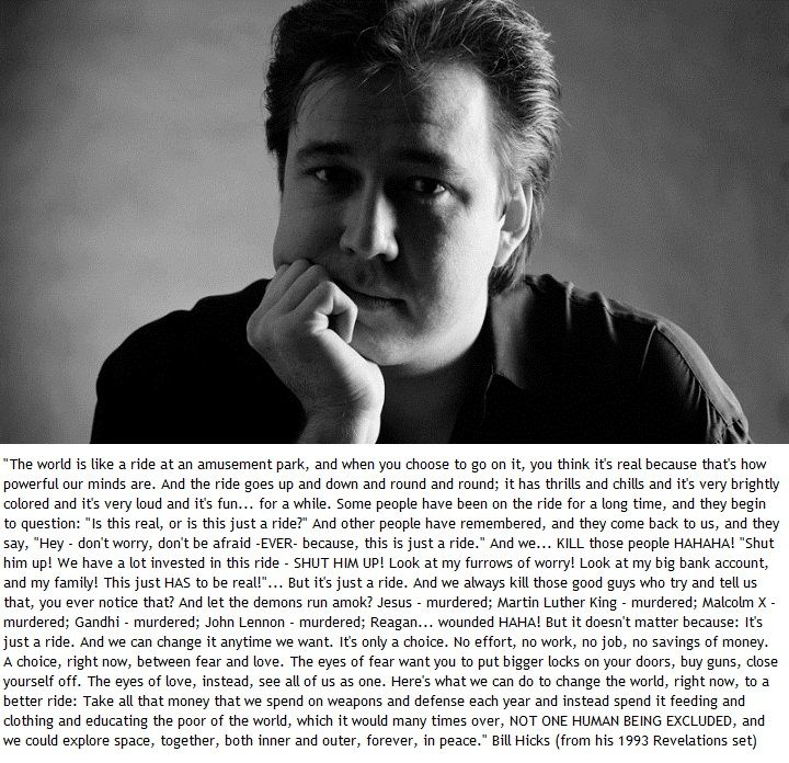 Bill Hicks Quotes Epic Bill Hicks Quote   Les Mots   Pinterest  Bill Hicks Quotes .