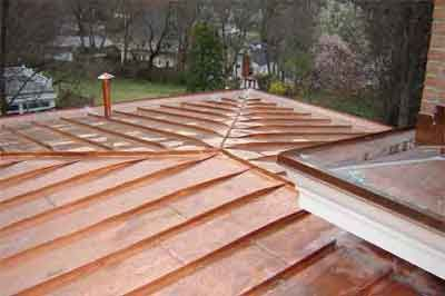 Copper Roof Copper Roof Roof Installation Roofing