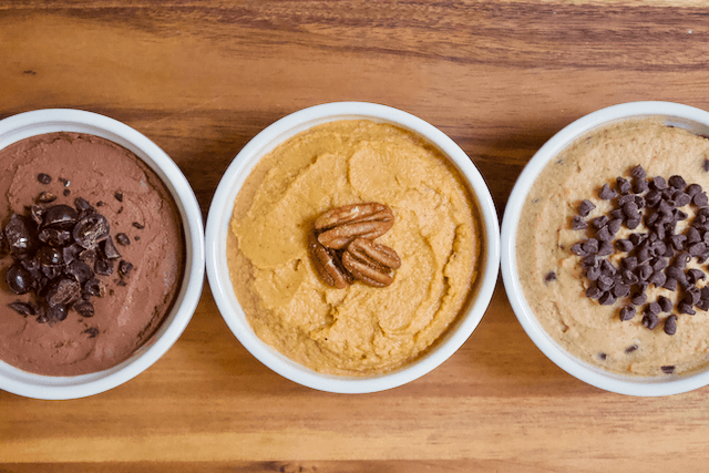 Carrot Cake Dessert Hummus #desserthummus
