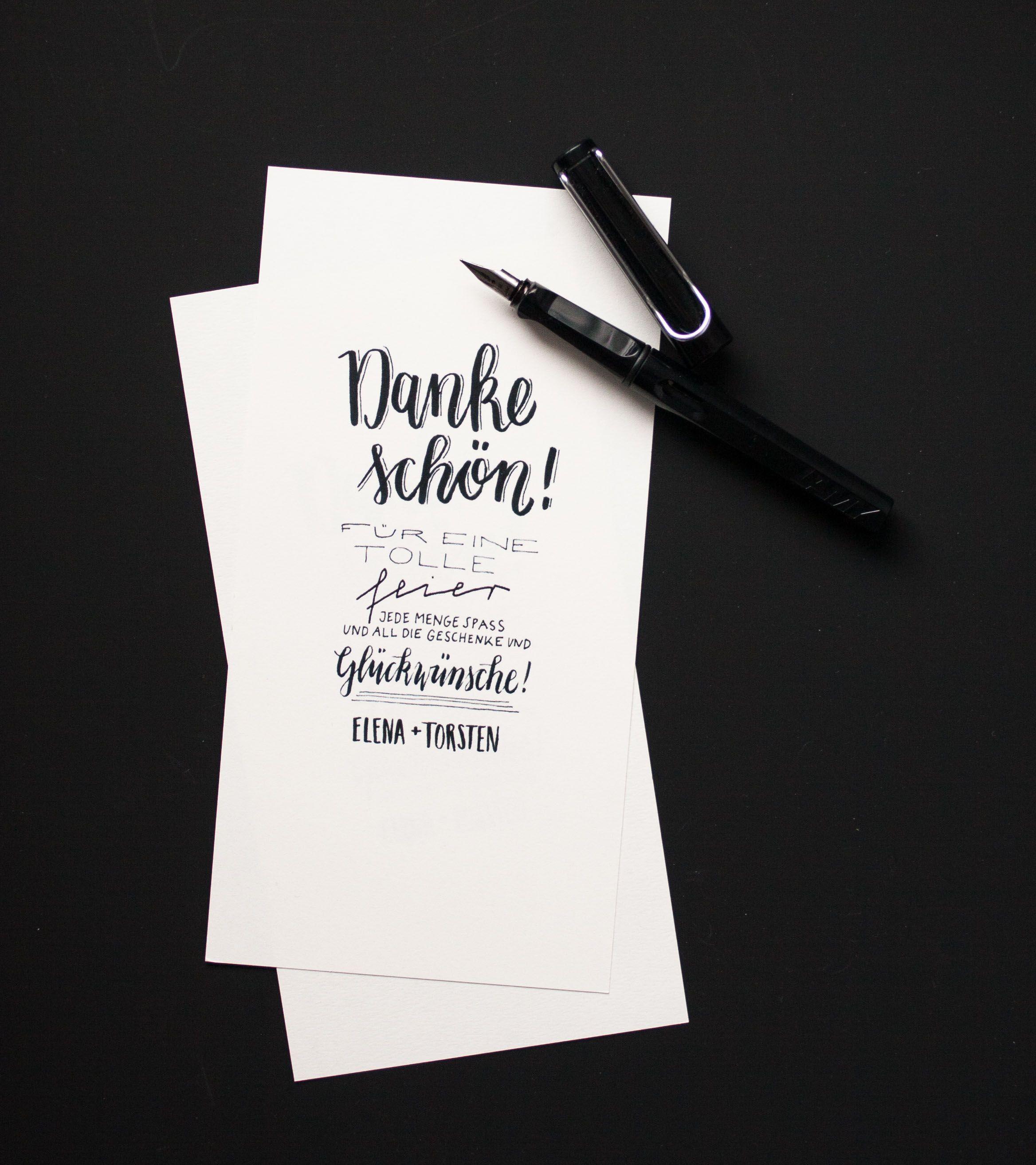 Papeterie Sets Archive Konfettirausch Danke Karte Dankeskarten Hochzeit Text Dankeskarten