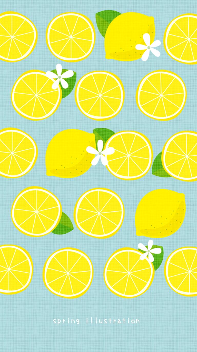 Wallpaper おしゃれまとめの人気アイデア Pinterest Spring Illustration レモン イラスト フルーツ イラスト かわいい 壁紙 Iphone