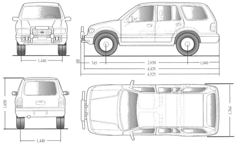Medidas de carro pesquisa google ergonomia e detalhes for Carros para planos arquitectonicos