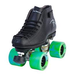 Riedell Cobalt Speed Roller Skates Black In Speed Roller Skates Roller Skating Roller Skates