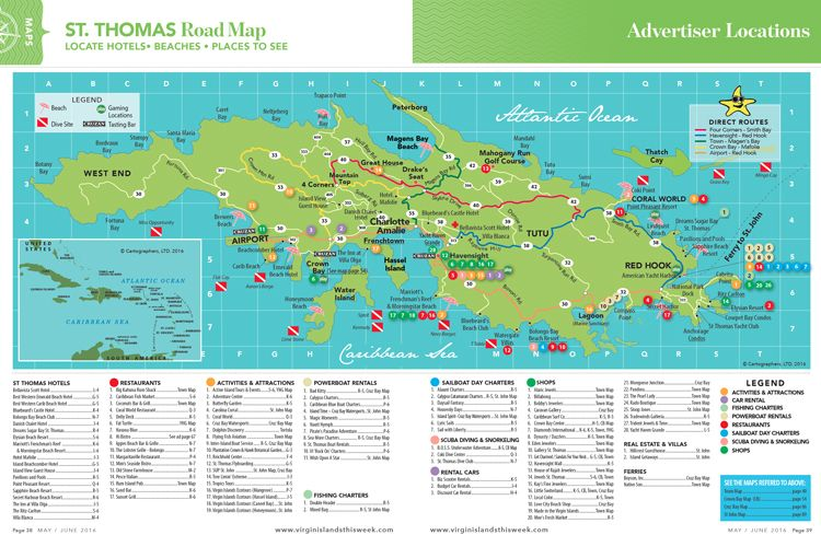 st-thomas-island-road-map.jpg | Maps | Pinterest | Virgin islands ...