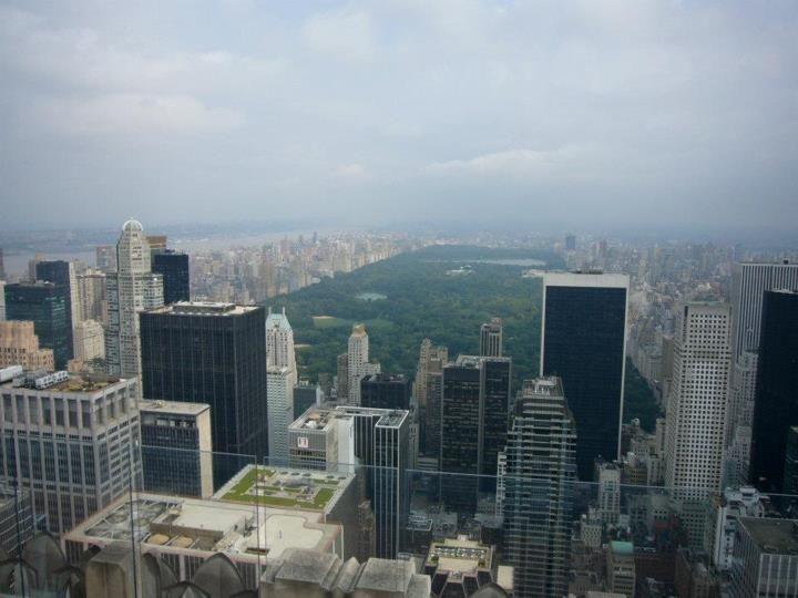Central Park on a hazy day....