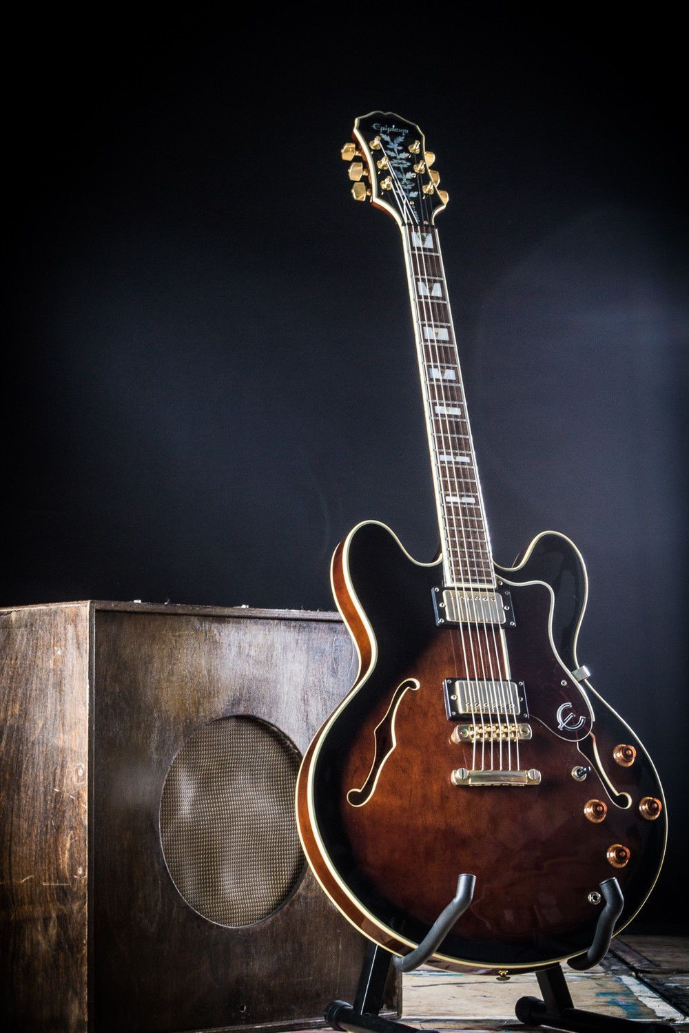 1996 Korean Epiphone By Gibson Sheraton 335 Shaped Guitar Semi On Pinterest Steampunk Fender Telecaster And Hollow Body