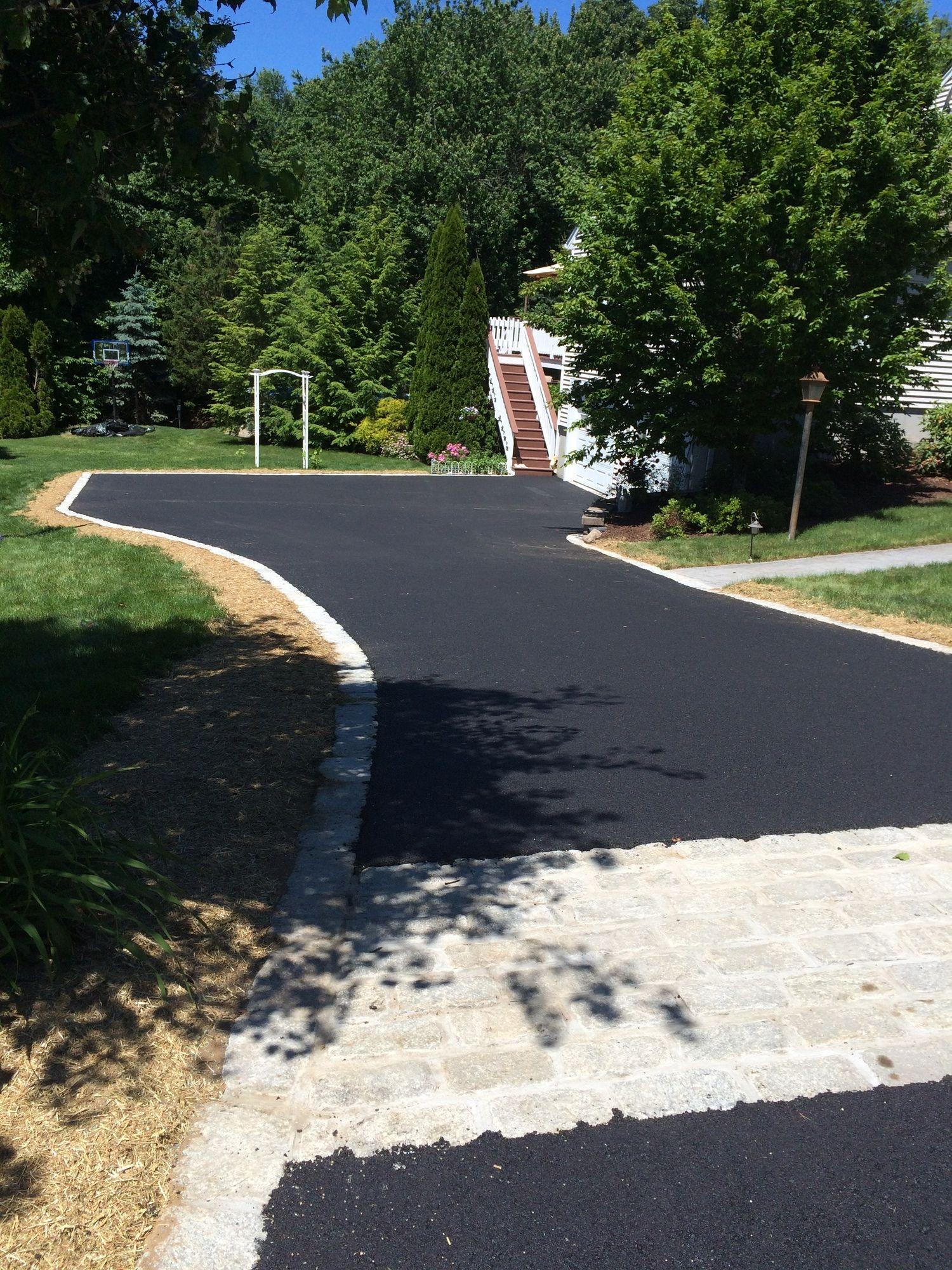 Darien Asphalt Paving Excavating Asphalt Driveway Driveway Landscaping Bitumen Driveway