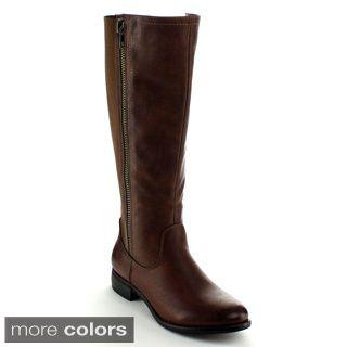 75302b445e5 Nature Breeze Women s Knee-high Riding Boots - Overstock™ Shopping - Great  Deals on Nature Breeze Boots