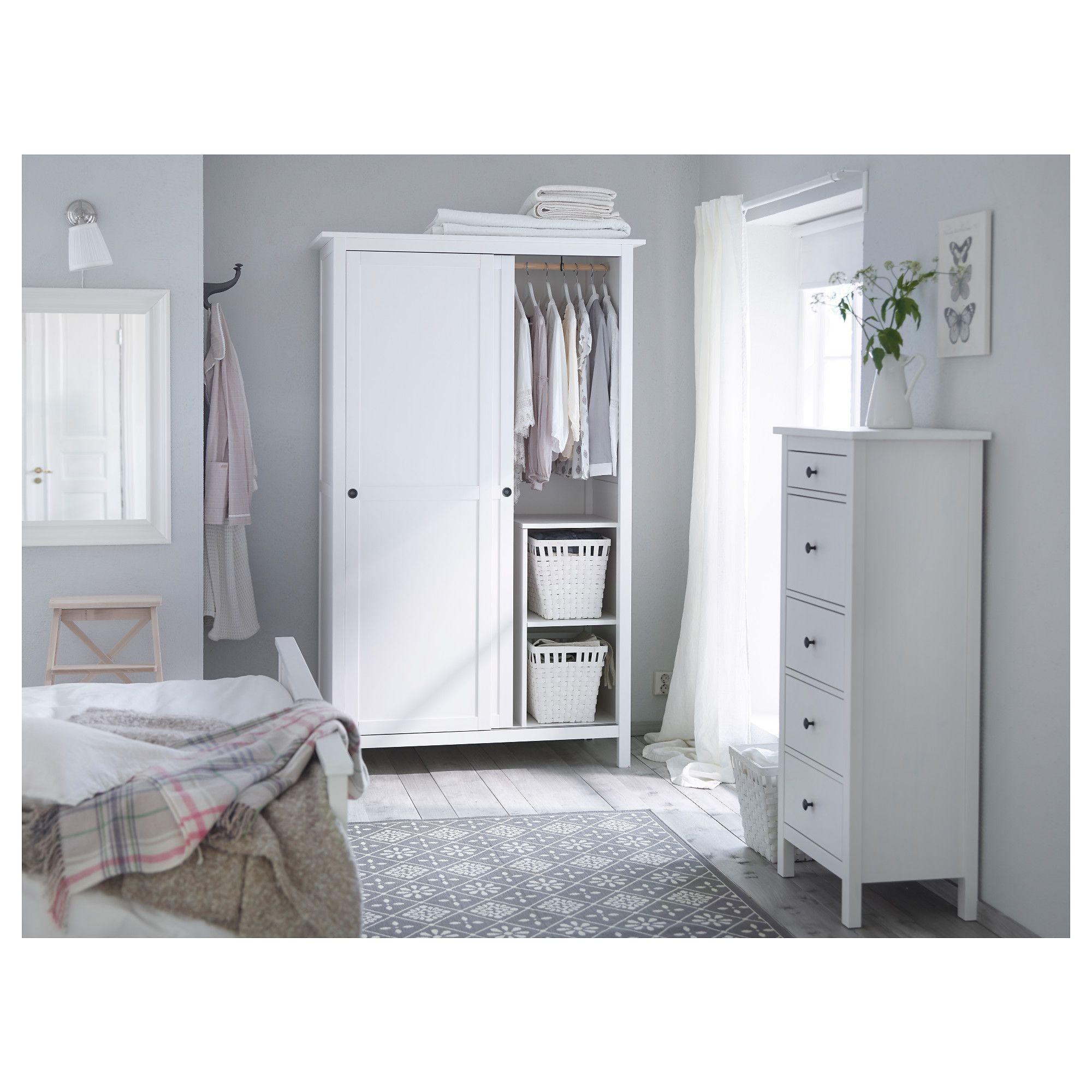 IKEA - HEMNES 5-drawer Chest White Stain In 2019