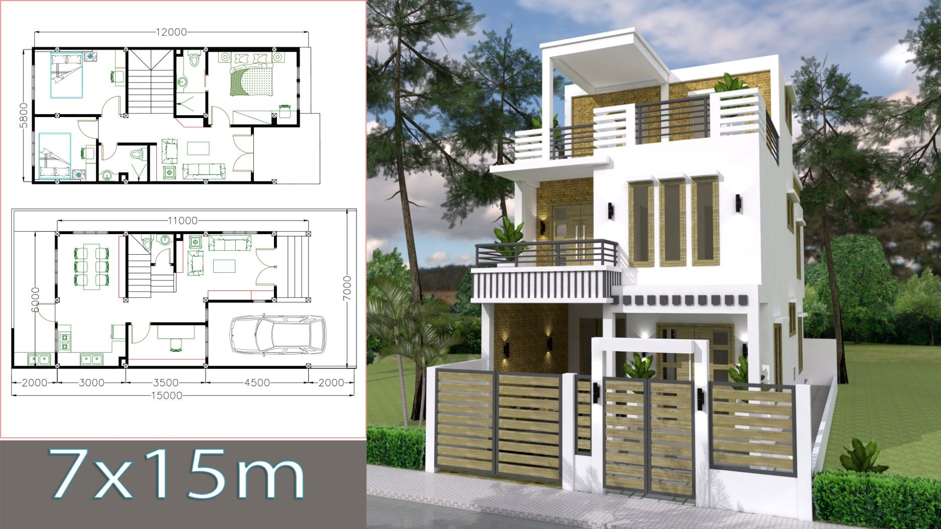 Sketchup home design plan   with bedrooms  samphoas also   favorite house rh pinterest
