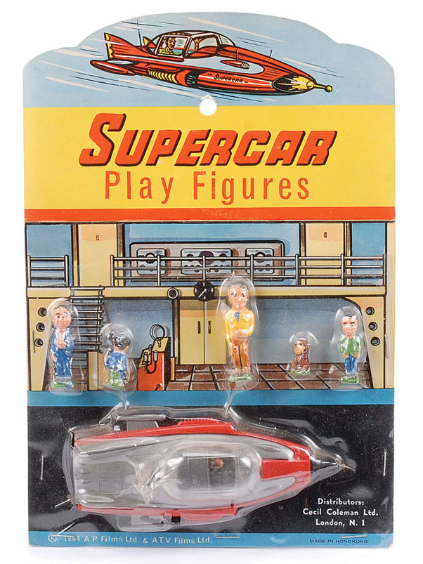 Automatic Supercar Gerry Anderson 1961 1962 Gerry Anderson Super Cars Old Tv Shows
