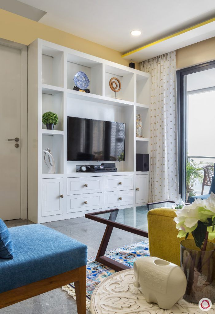 Around the World in 1,400 sq ft | Living room designs, Tv ...