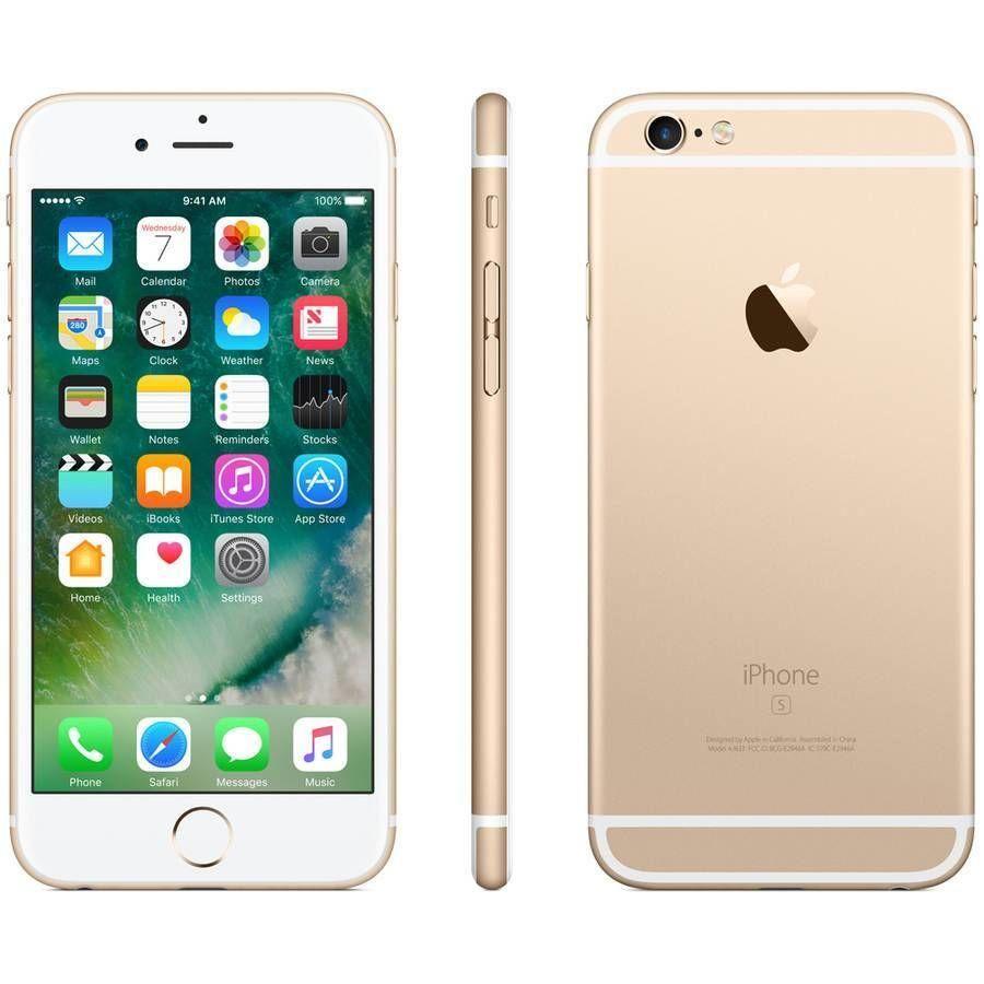 Straight Talk Prepaid Apple iPhone 6s 16GB, Gold Iphone