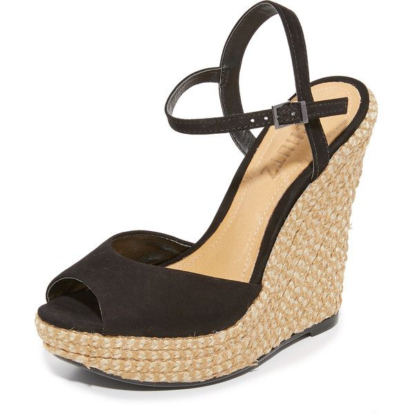6d2648b35fa Schutz Elhan Wedges (€160) ❤ liked on Polyvore featuring shoes ...