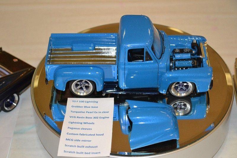 53 ford f100 lightning model truck kits plastic model