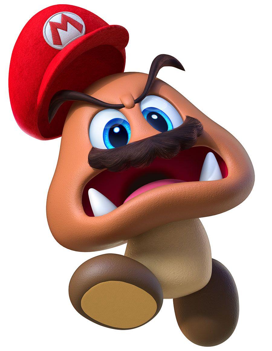 Goomba Art Galerie D Art Super Mario Odyssey Mario Bros