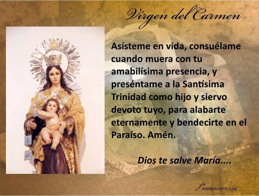 Mis Propósitos Virgen Del Carmen 022 Oraciones