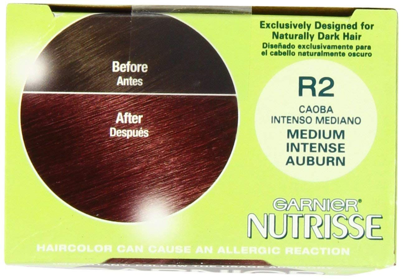 Garnier Nutrisse Nourishing Permanent Haircolor R2 Medium Intense Auburn You Can Find Out More Details At The Link Of The Image Hair Color Intense Auburn